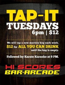 Tap-It Tuesdays @ Hi Scores Bar-Arcade | Henderson | Nevada | United States