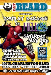 Fat Beard's Cosplay Karaoke @ HellPop! in the Arts Factory | Las Vegas | Nevada | United States